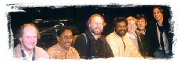 Rajan with his orchestra members from Europe.