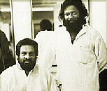Veteran vocalist KJ Yesudas with RAJAN